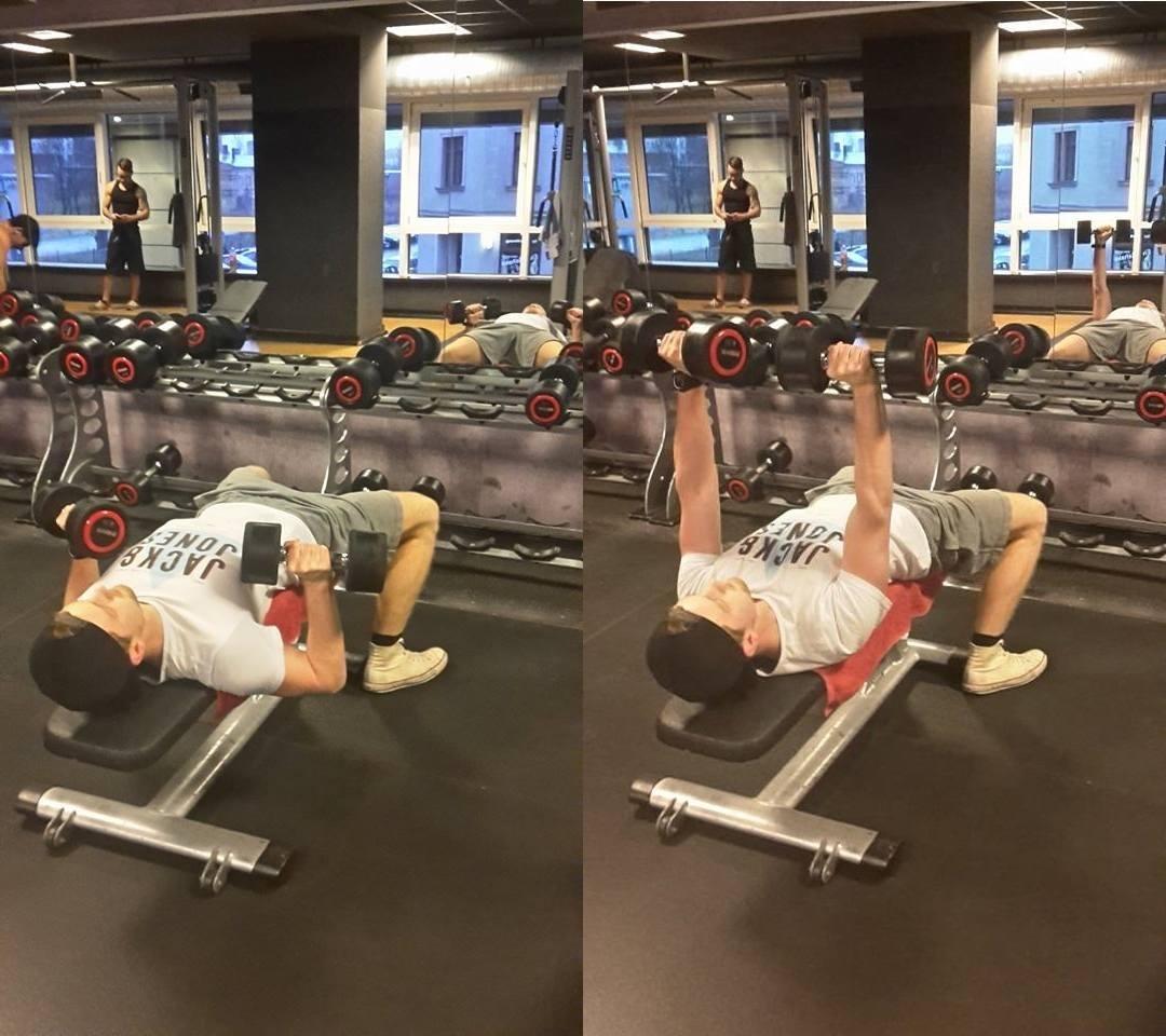Schnell Muskeln aufbauen mit bench presses