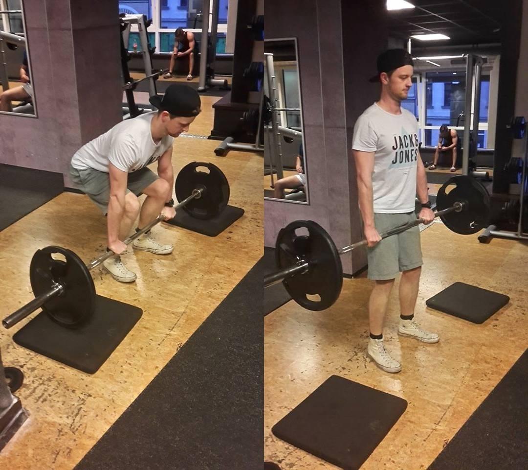 Schnell Muskeln aufbauen mit Deadlifts
